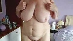 My busty mom..